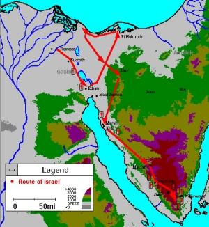 Israelites Cross Red Sea Craft